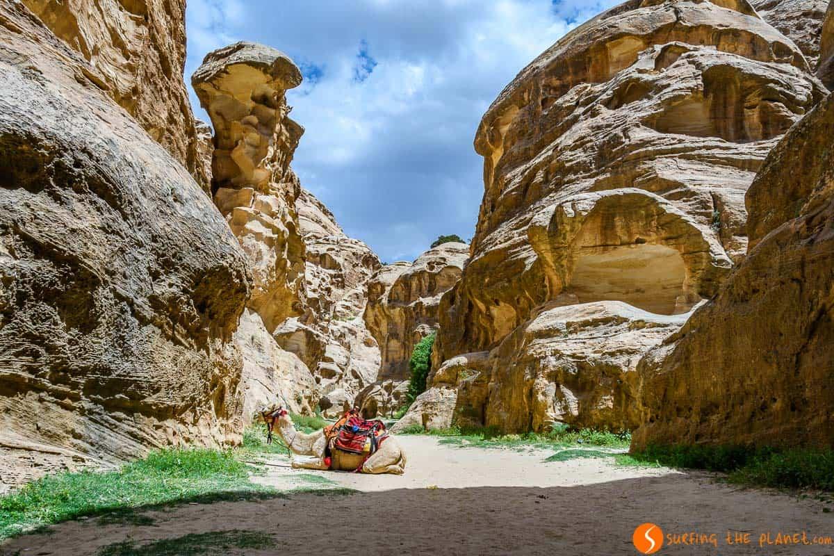 Paisaje, Little Petra, Jordania