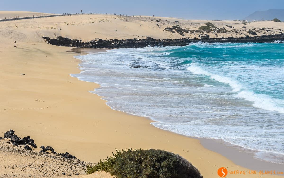 Playa Alzada, Parque Natural de Dunas de Corralejo, Fuerteventura