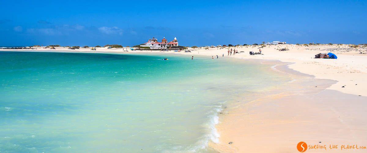 Playa de la Concha, El Cotillo, Fuerteventura, España