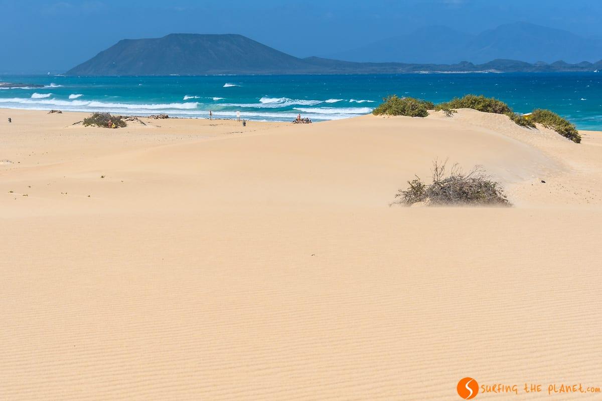 Playas de Las Dunas de Corralejo, Fuerteventura | Qué visitar en Fuerteventura en 4 días