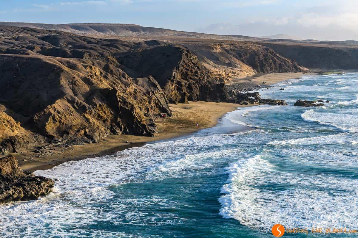 Beach in La Pared, Fuerteventura | What to do in Fuerteventura in 4 days