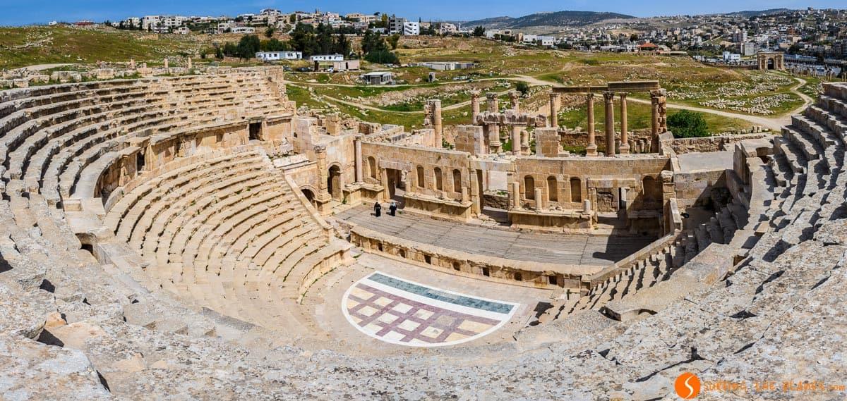 Teatro del Norte, Jerash, Jordania | Qué ver en Jerash