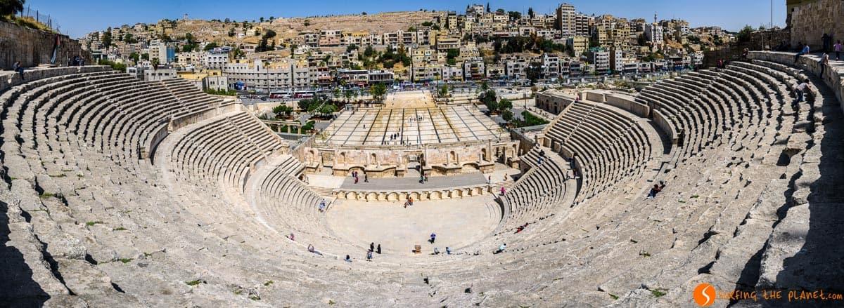 Teatro Romano, Ammán, Jordania