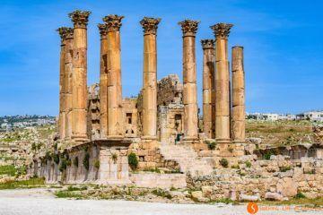 Templo de Artemis, Jerash, Jordania