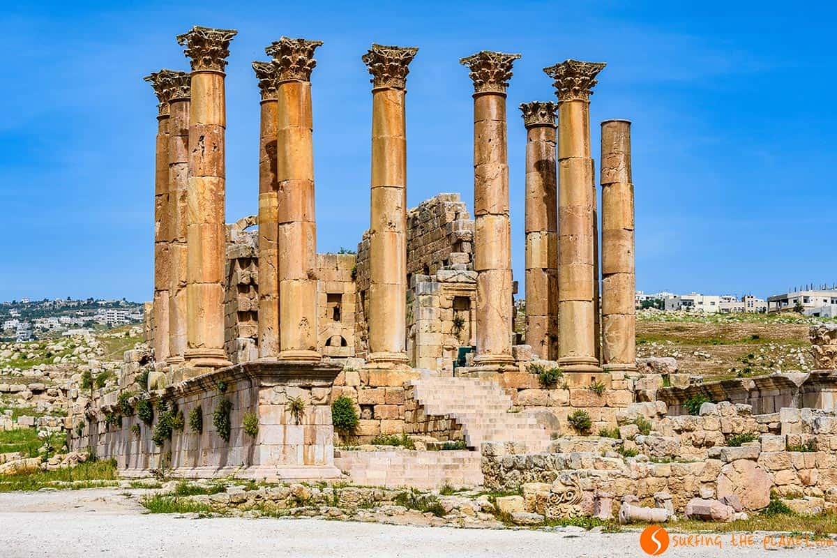 Templo de Artemis, Jerash, Jordania | Excursión de día a Jerash