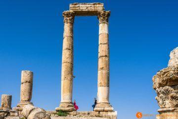 Templo Hercules, Ammán, Jordania