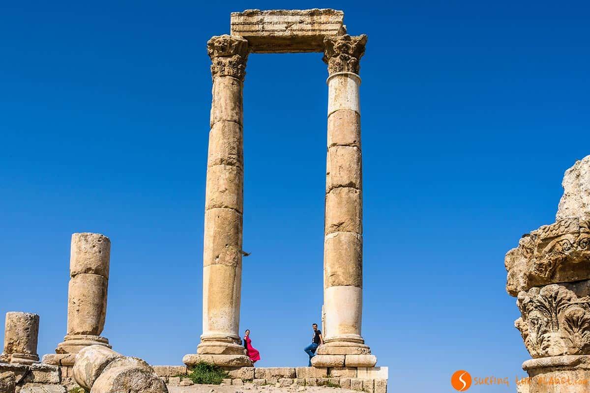 Templo Hercules, Ammán, Jordania | Qué ver y hacer en Ammán