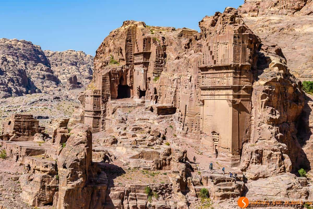 Tumbas, Petra, Jordania | Qué ver y hacer en Petra en 1 ó 2 días