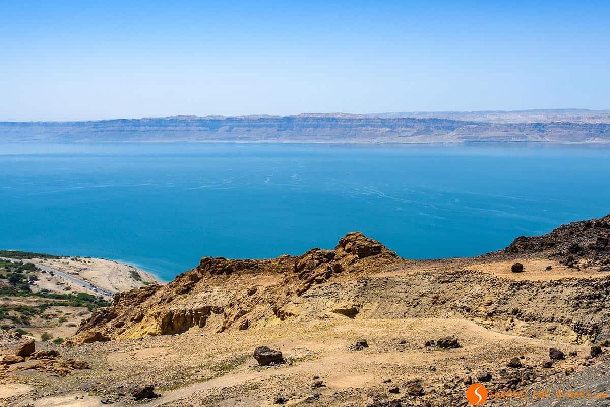 Vistas del Mar Muerto, Jordania | Excursión al Mar Muerto