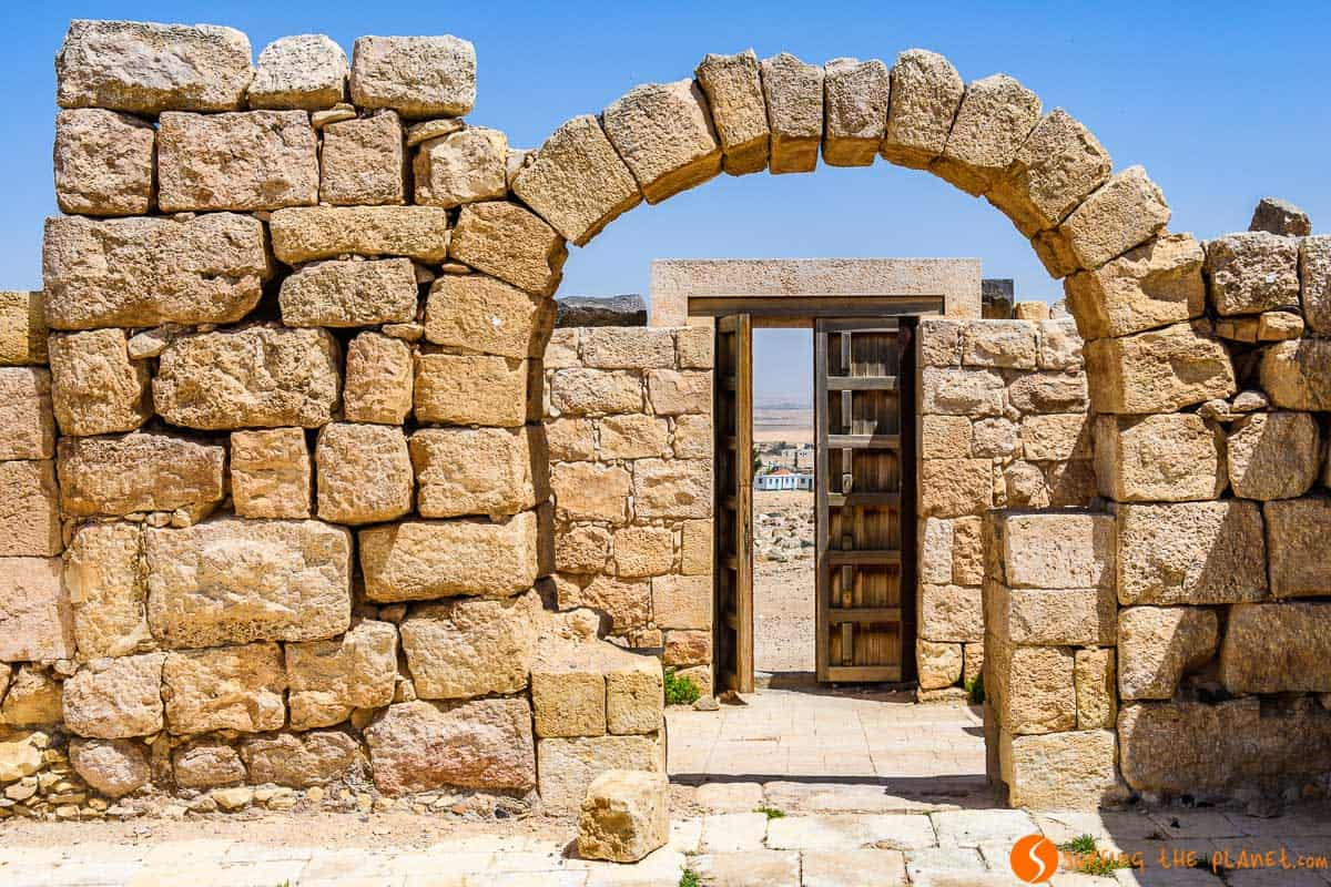 Arcos, Qasr Al-Hallbat, Jordania