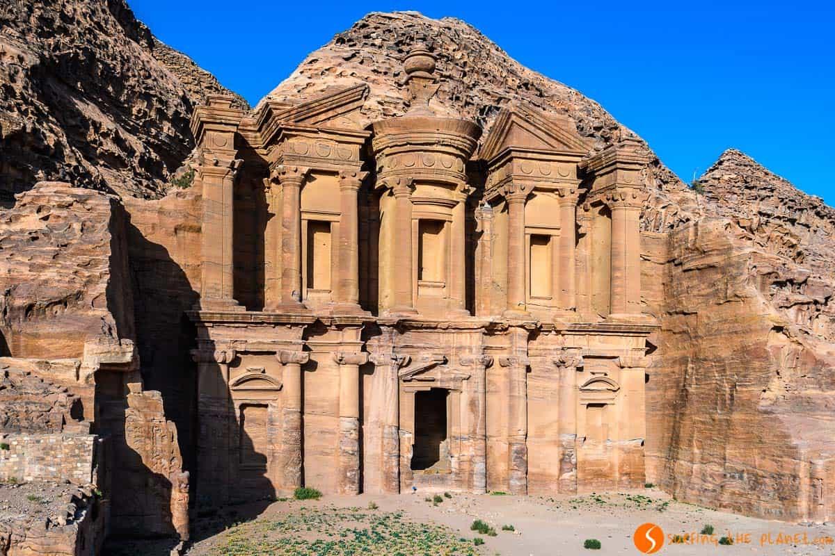 Monasterio, Petra, Jordania