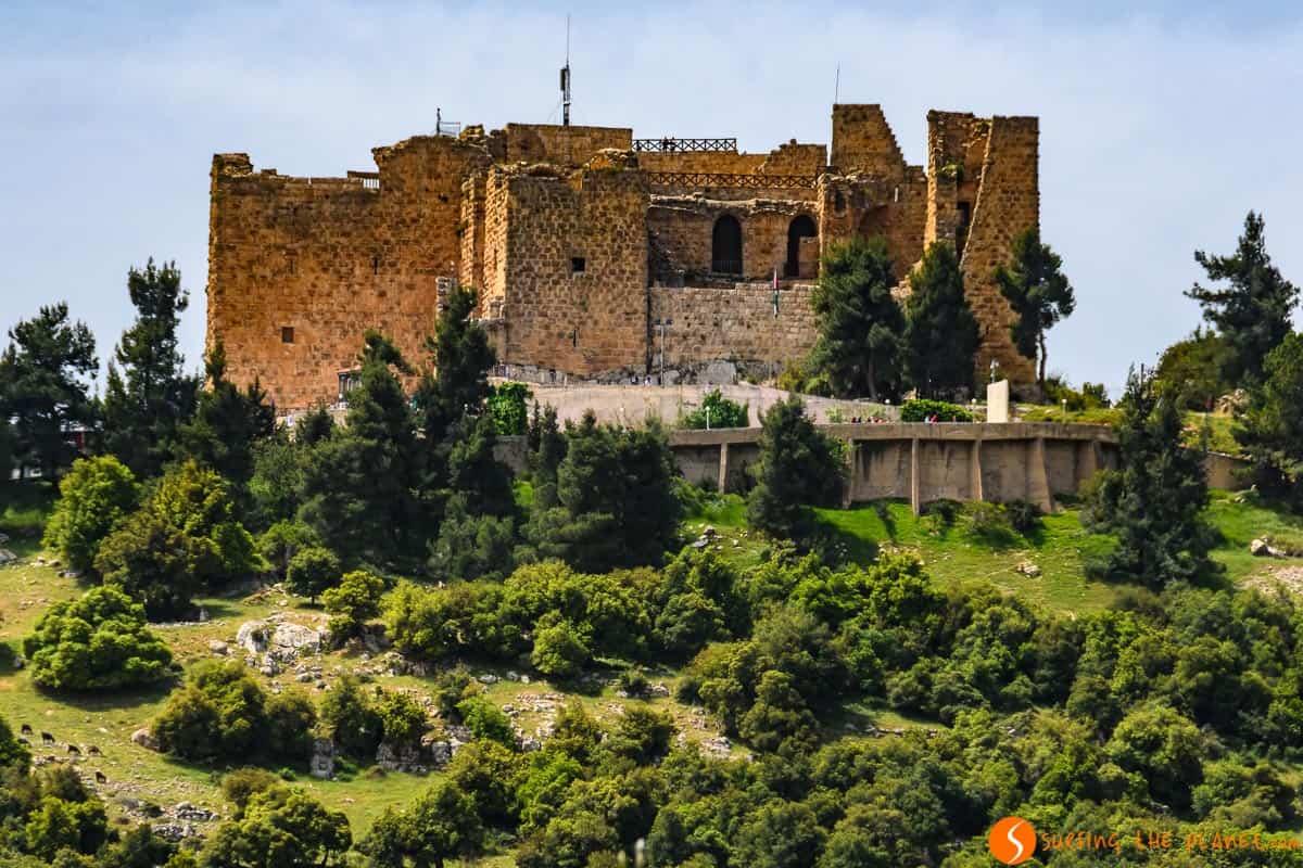 Exterior, Castillo de Ajlun, Jordania | Castillos Cruzados de Jordania