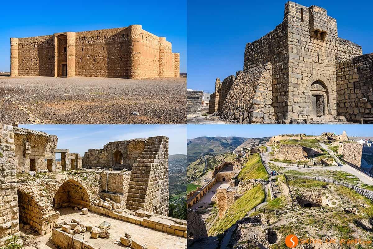 Castillos de Desierto y Cruzados en Jordania | Los 7 Castillos más importantes de Jordania