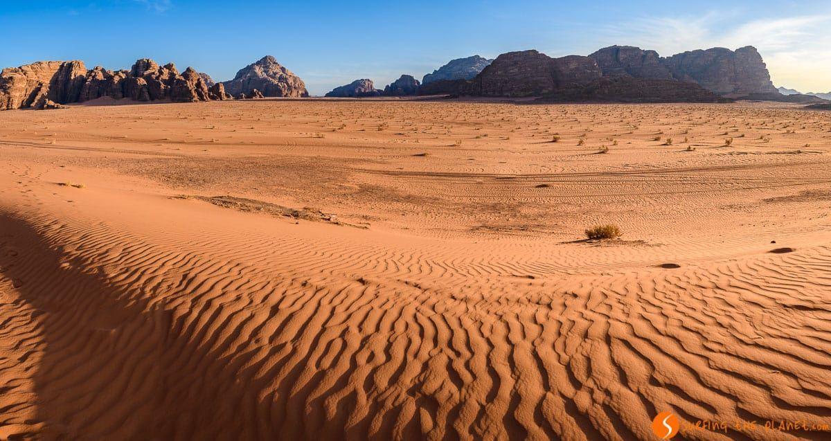 Color rojo, Desierto de Wadi Rum, Jordania | Qué hacer en Wadi Rum