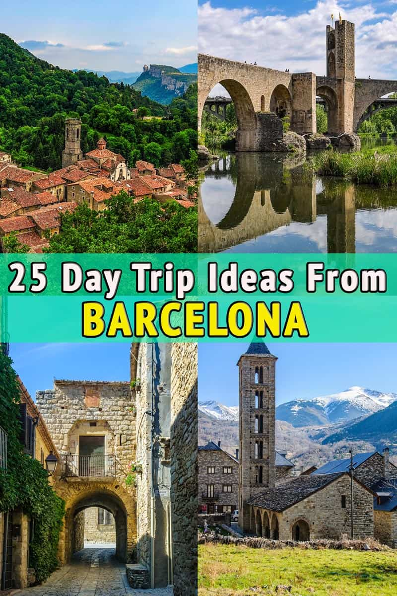 25 Day Trip Ideas from Barcelona