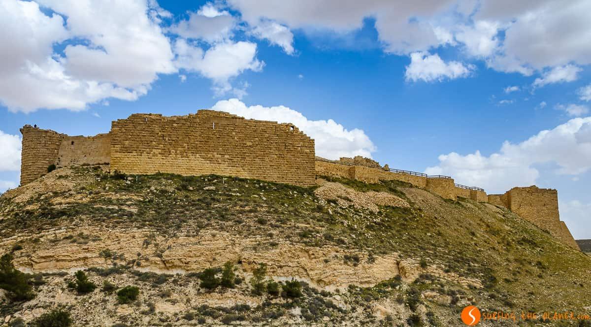 Exterior, Castillo de Shobak, Jordania | 18 Lugares que visitar en Jordania