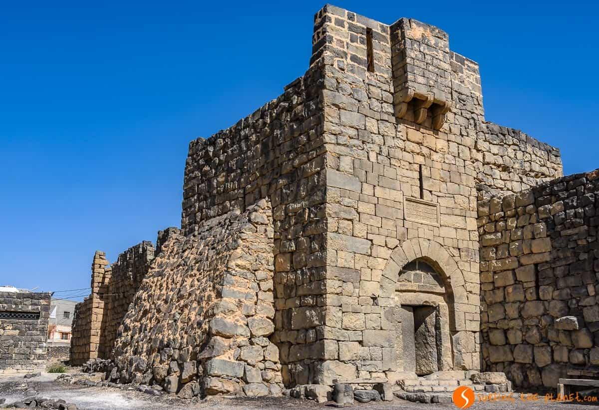 Exterior, Qasr Azraq, Jordania | Viaje por los Castillos de Desierto de Jordania