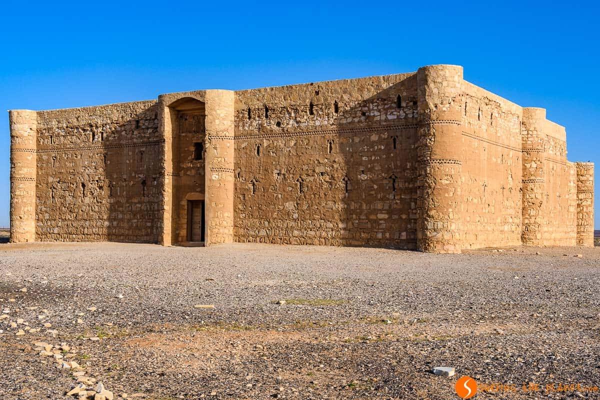 Exterior, Qasr Kharana, Jordania | Castillos del Desierto de Jordania