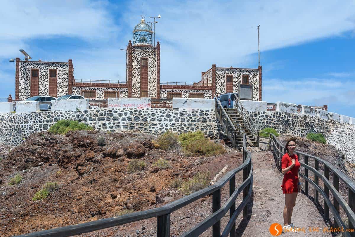 Entallada Lighthouse, Fuerteventura