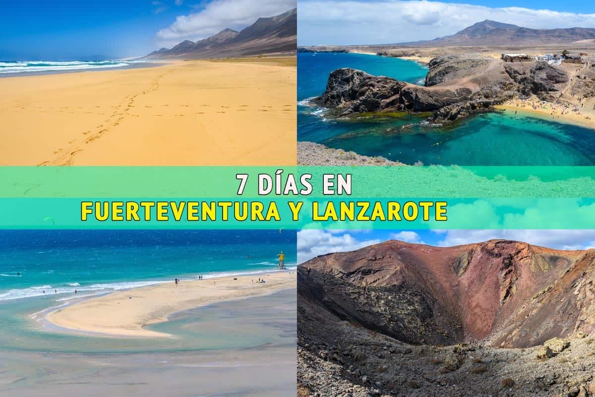 7 días en Lanzarote y Fuerteventura