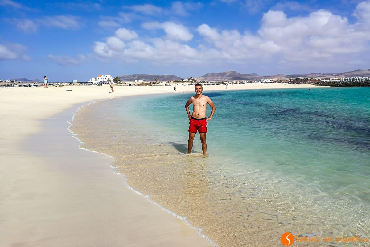 On Playa de la Concha, El Cotillo, Fuerteventura | Things to visit in Fuerteventura in 3 days