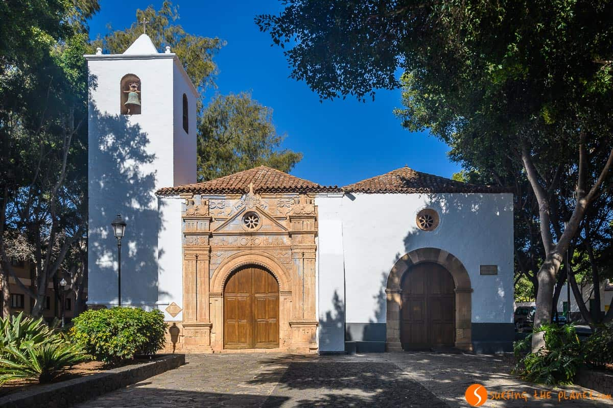 White church, Pájara, Fuerteventura | Things to see and do in Fuerteventura in 3 days