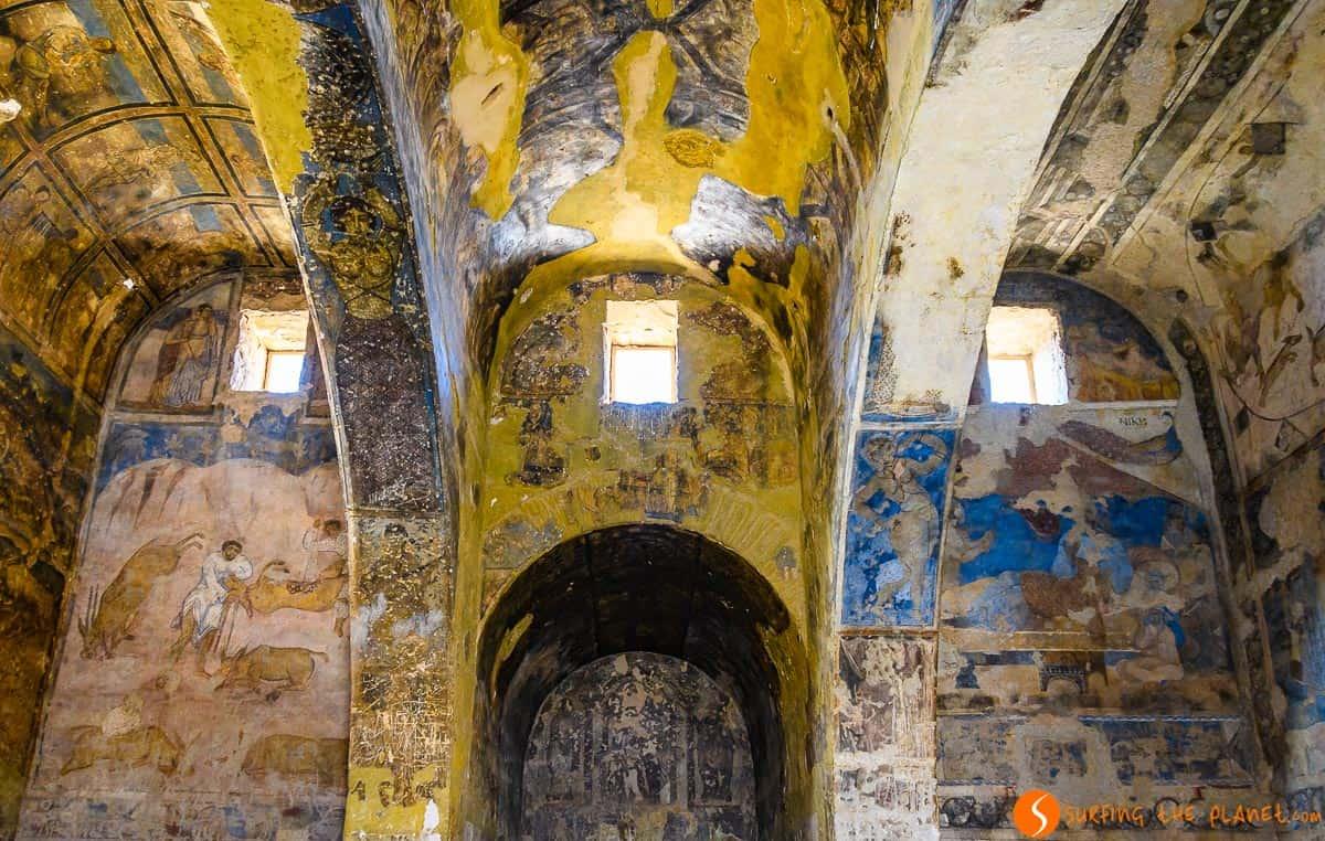 Interior, Qasr Amra, Jordania