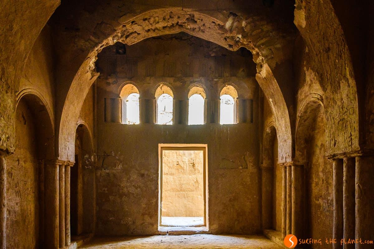 Interior, Qasr Kharana, Jordania
