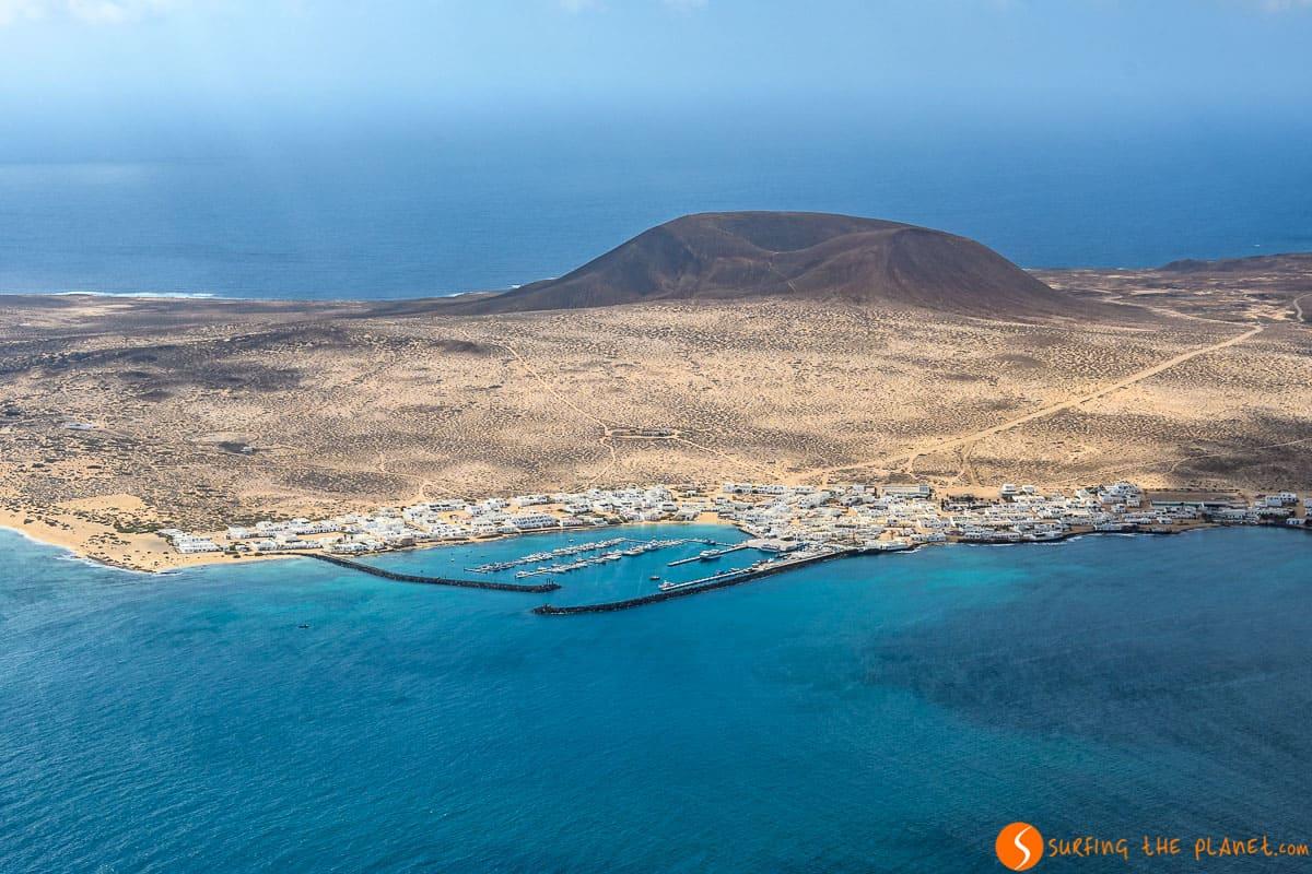 Isla de La Graciosa, Lanzarote, Islas Canarias, España