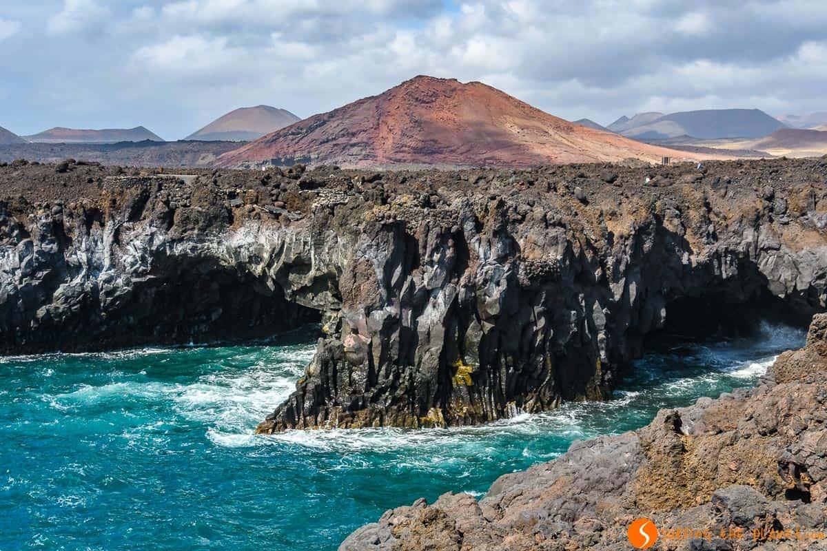 Los Hervideros cerca de El Golfo, Lanzarote, Islas Canarias, España | Fuerteventura y Lanzarote en 7 días