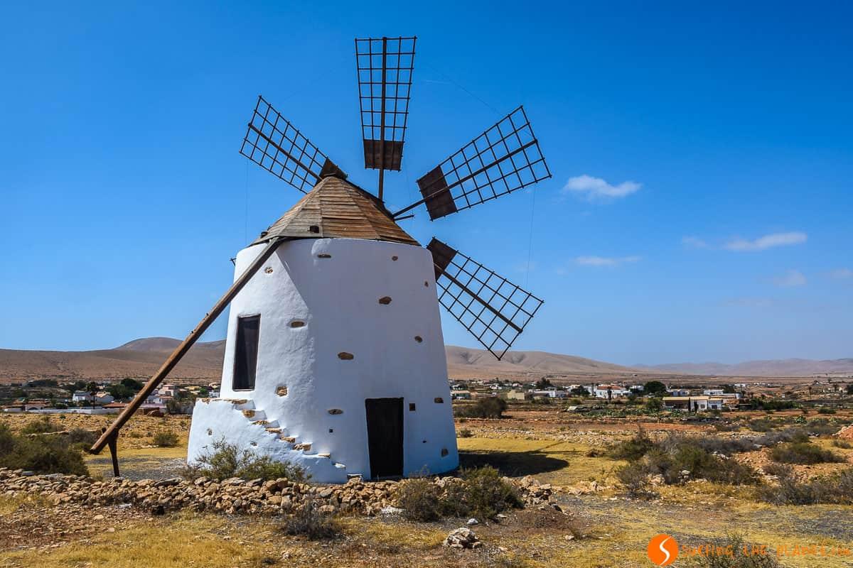 Lonely windmill, Fuerteventura