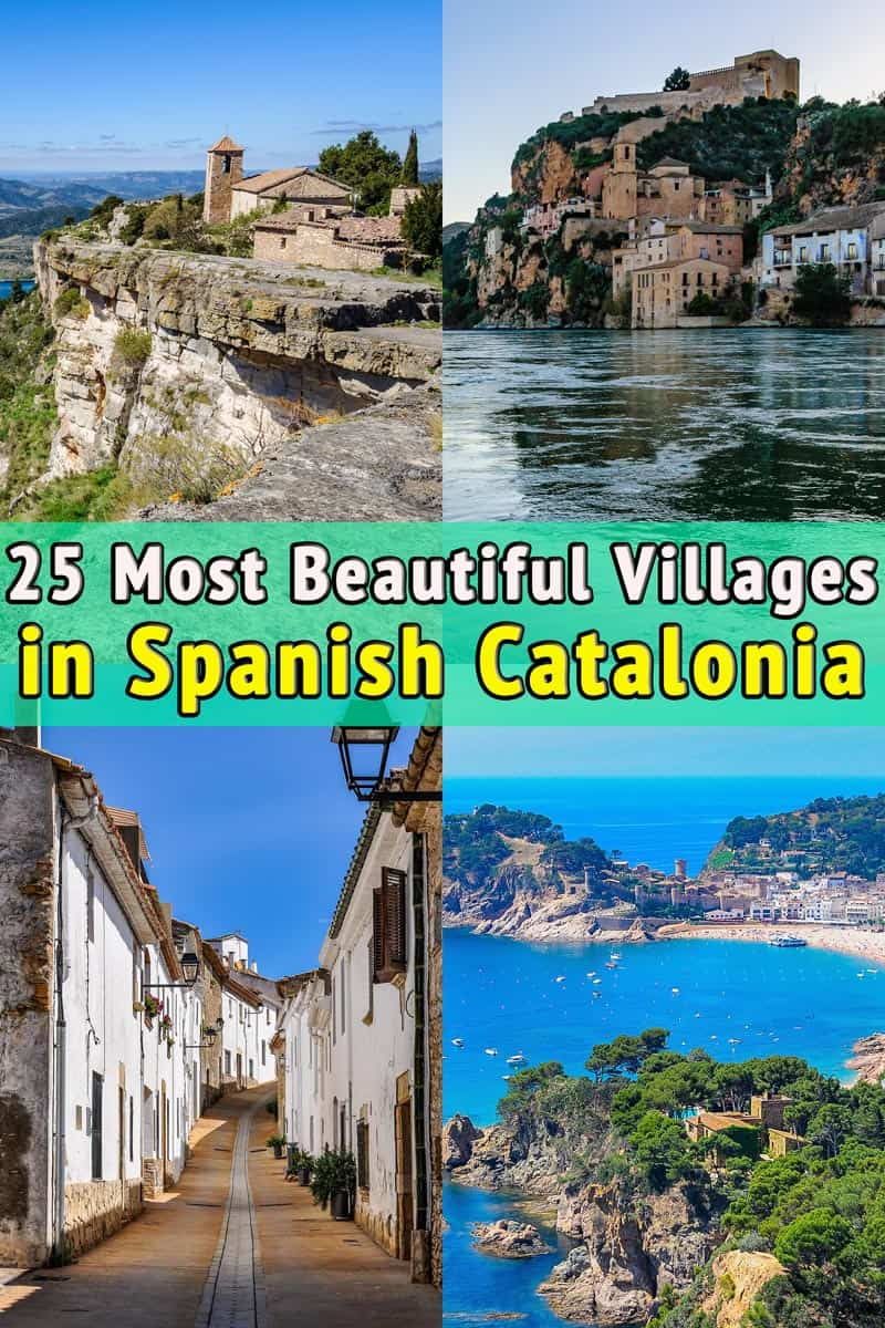 25 Most beautiful villages in Catalonia, near Barcelona
