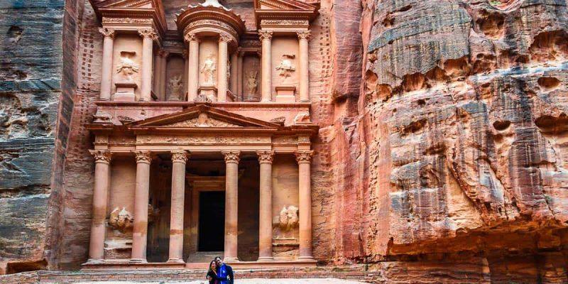 Tesoro, Petra, Jordania