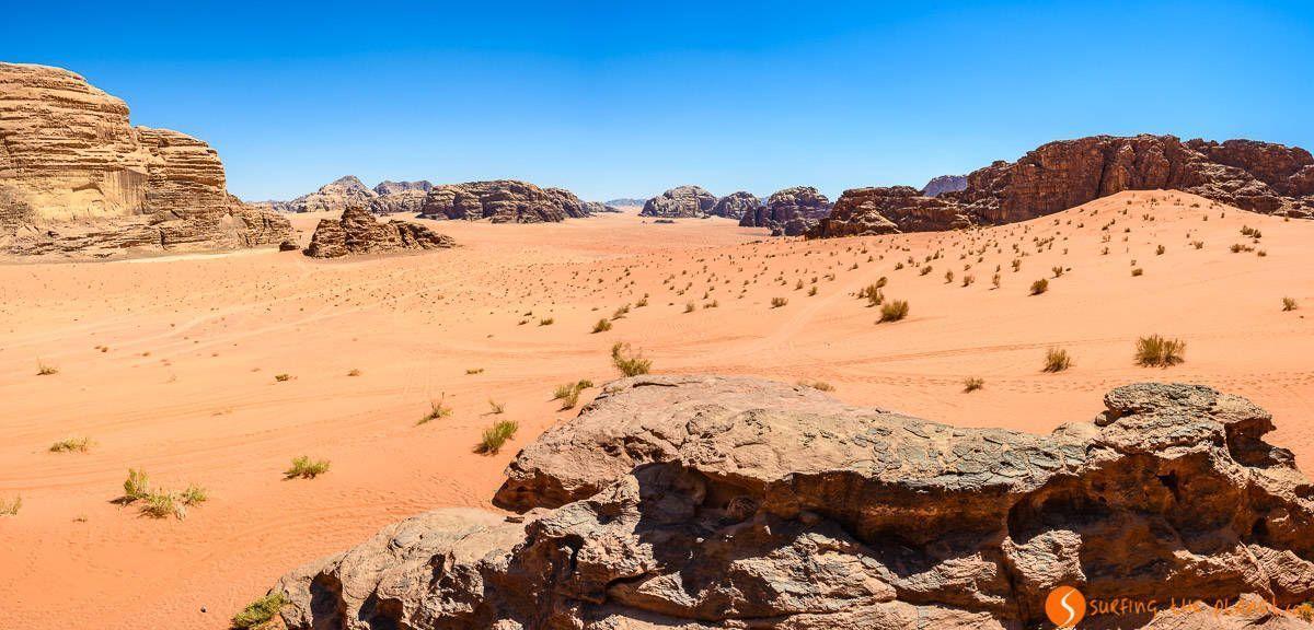 Panorama grande, Desierto de Wadi Rum, Jordania | Qué ver y hacer en Wadi Rum