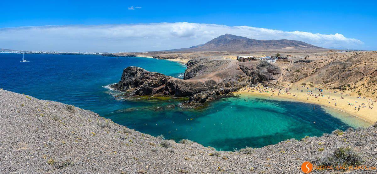 Playa del Papagayo , Lanzarote, Islas Canarias | que hacer 7 días Fuerteventura y Lanzarote