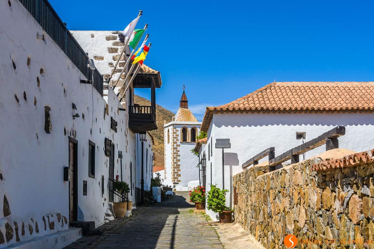 White village, Betancuria, Fuerteventura