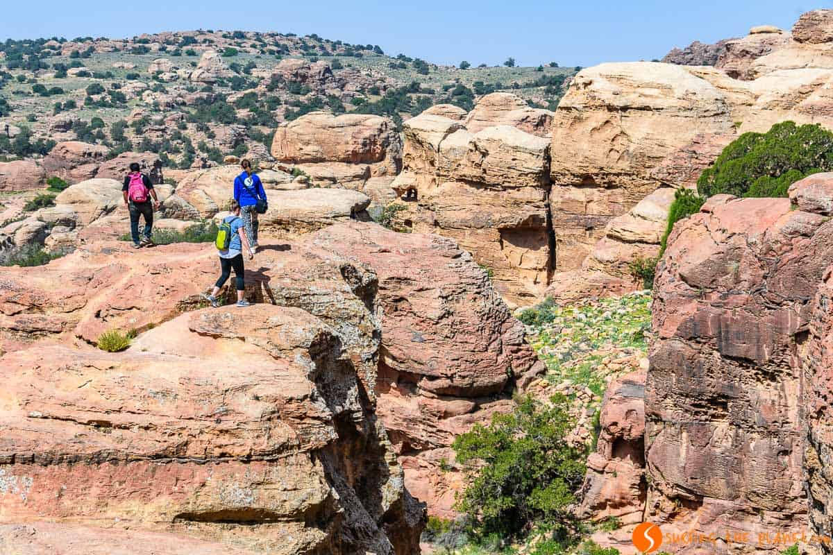 Senderismo, Reserva de la Biosfera de Dana, Jordania | Senderismo en Dana