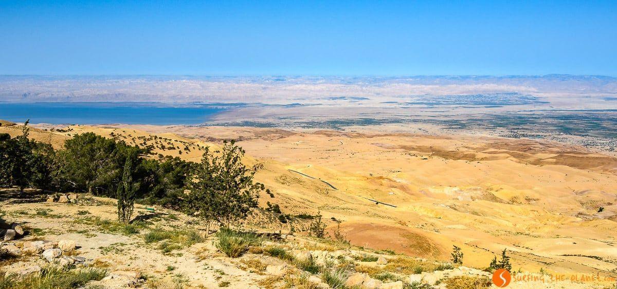 Vista desde Monte Nebo, Madaba, Jordania