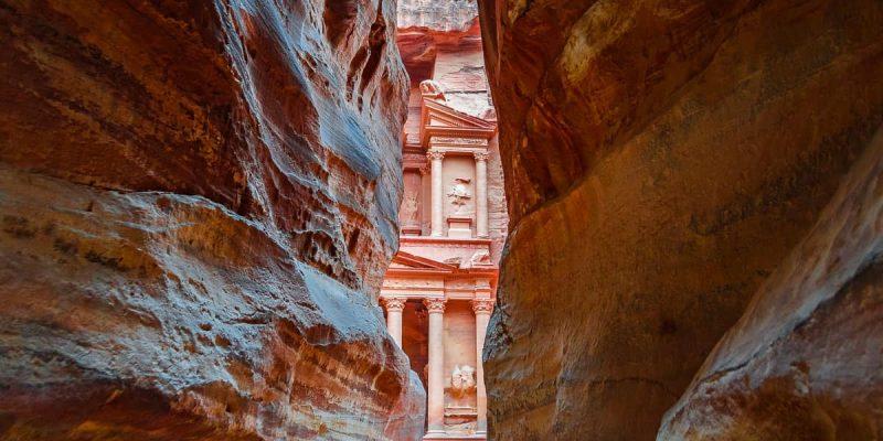 El Siq, Petra, Jordania