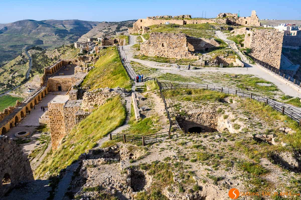 Vistas, Castillo De Kerak, Jordania | Qué hacer en Jordania en 15 días