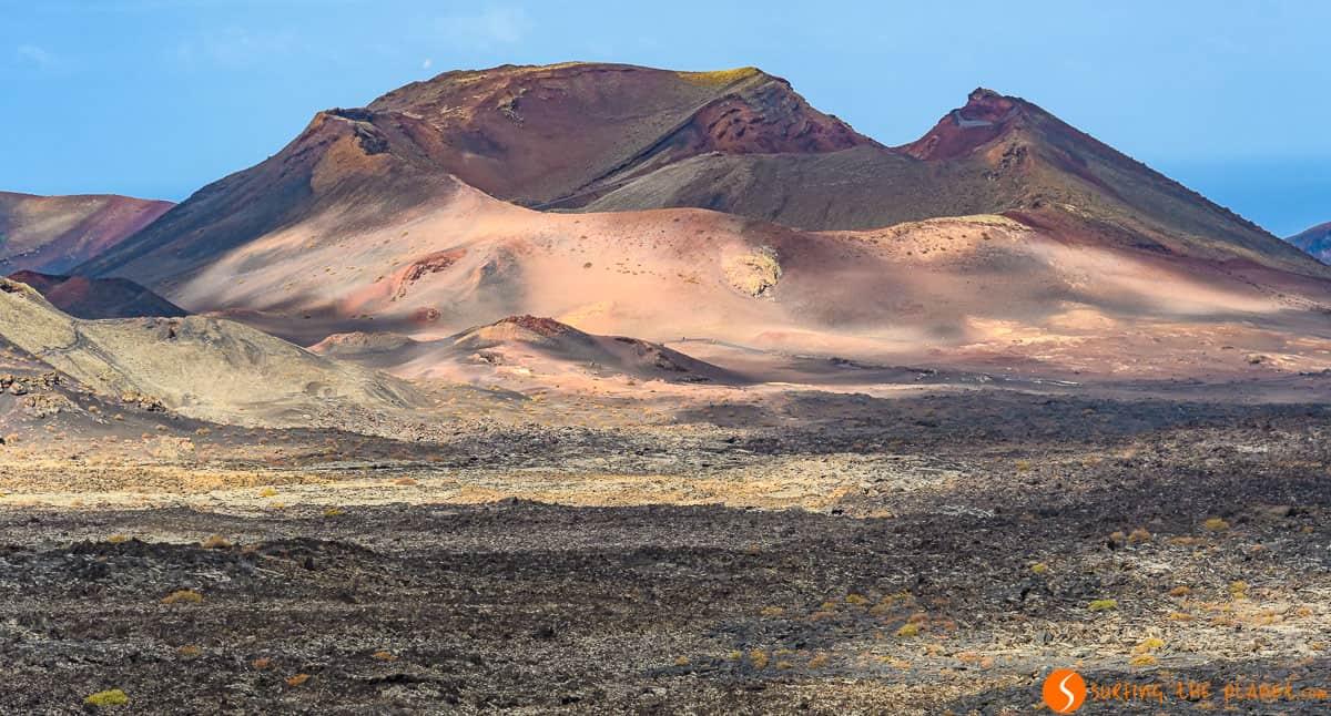 Volcán de colores, Parque Nacional Timanfaya, Lanzarote, España | Fuerteventura y Lanzarote en 7 días