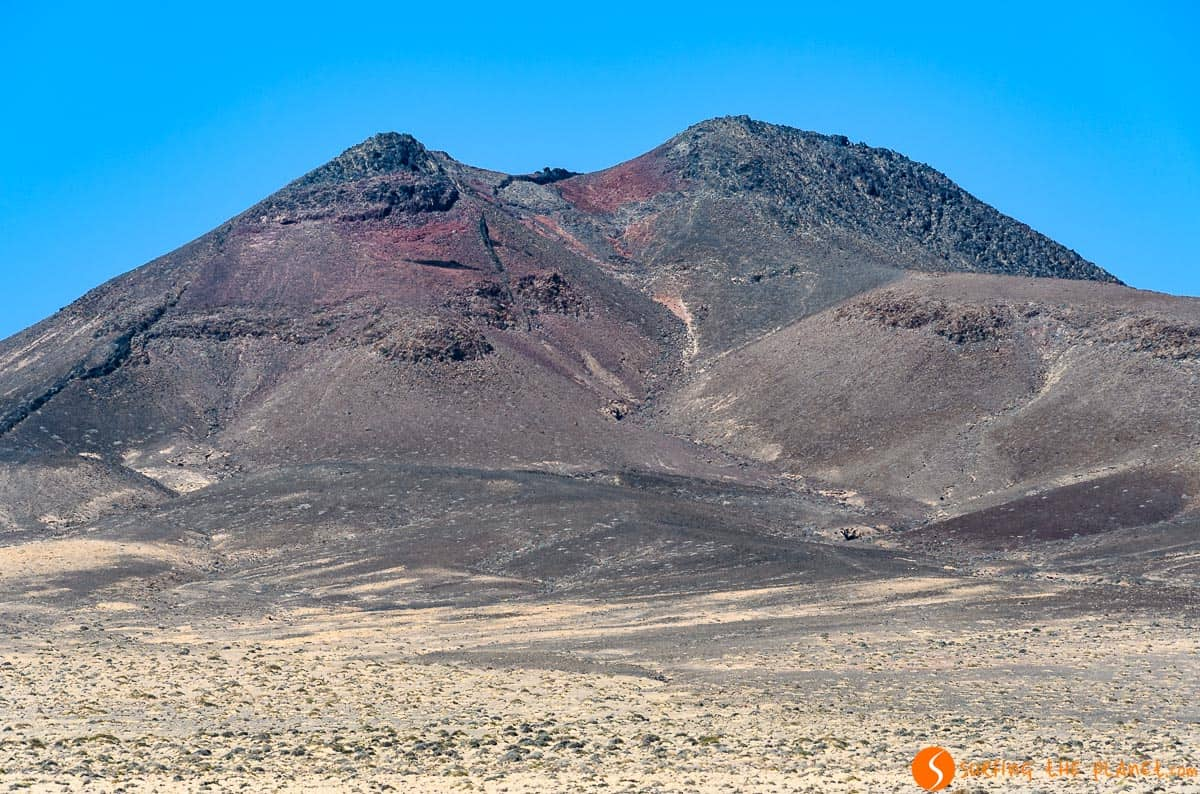 Crater de volcán, Peninsula Jandía, Fuerteventura
