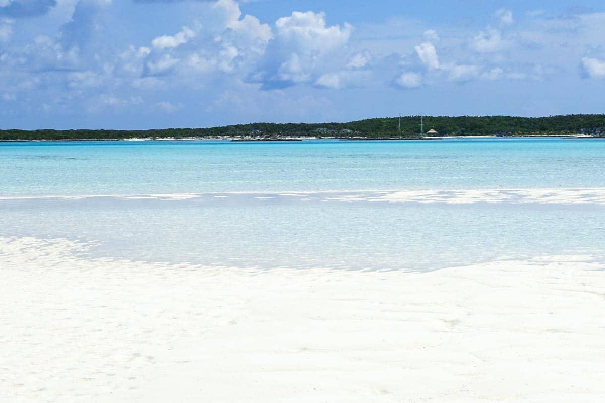 White Sand, Exumas, Bahamas