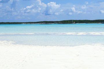 White Sand Beaches, Exumas, The Bahamas