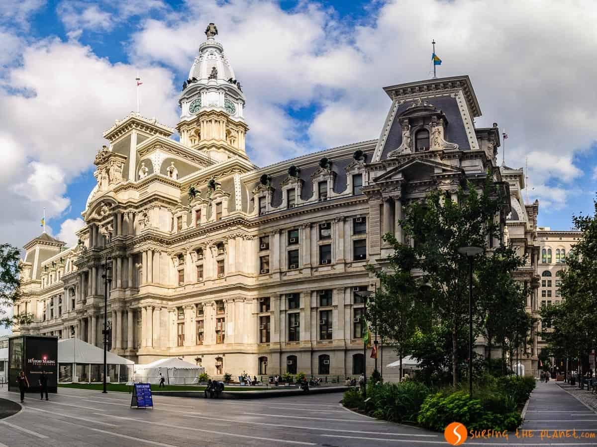 Ayuntamiento, Filadelfia, Estados Unidos