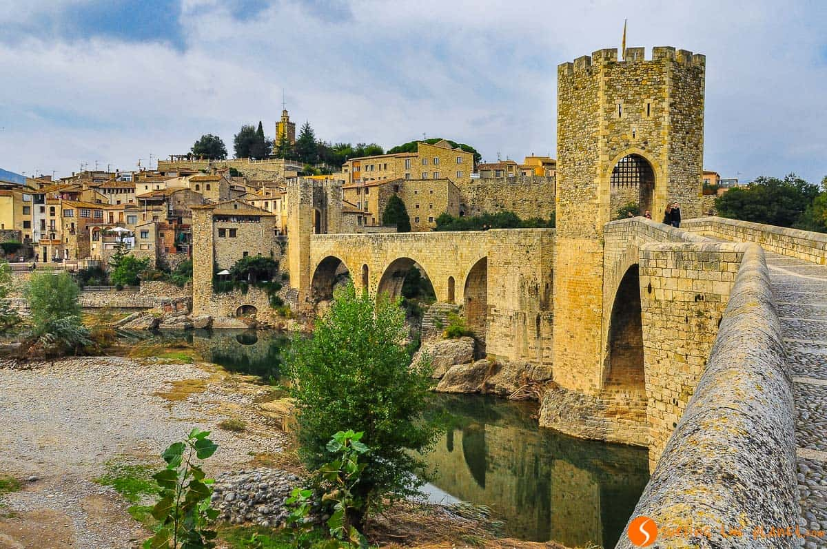 Puente Viejo, Besalú, La Garrotxa, Cataluña