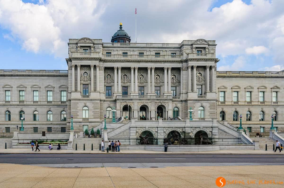 Biblioteca del Congreso, Washington DC, Estados Unidos | Qué ver y hacer en Washington