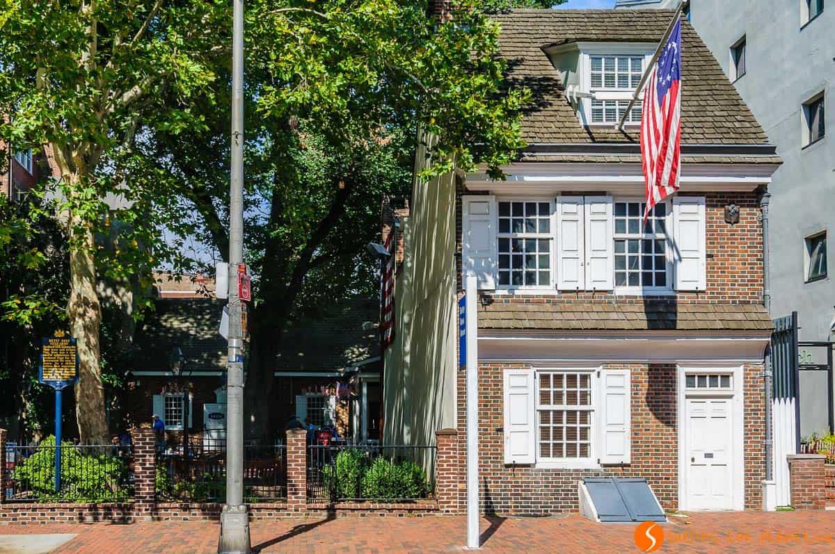 Casa de Betsy Ross, Filadelfia, Estados Unidos | Qué ver y hacer en Filadelfia
