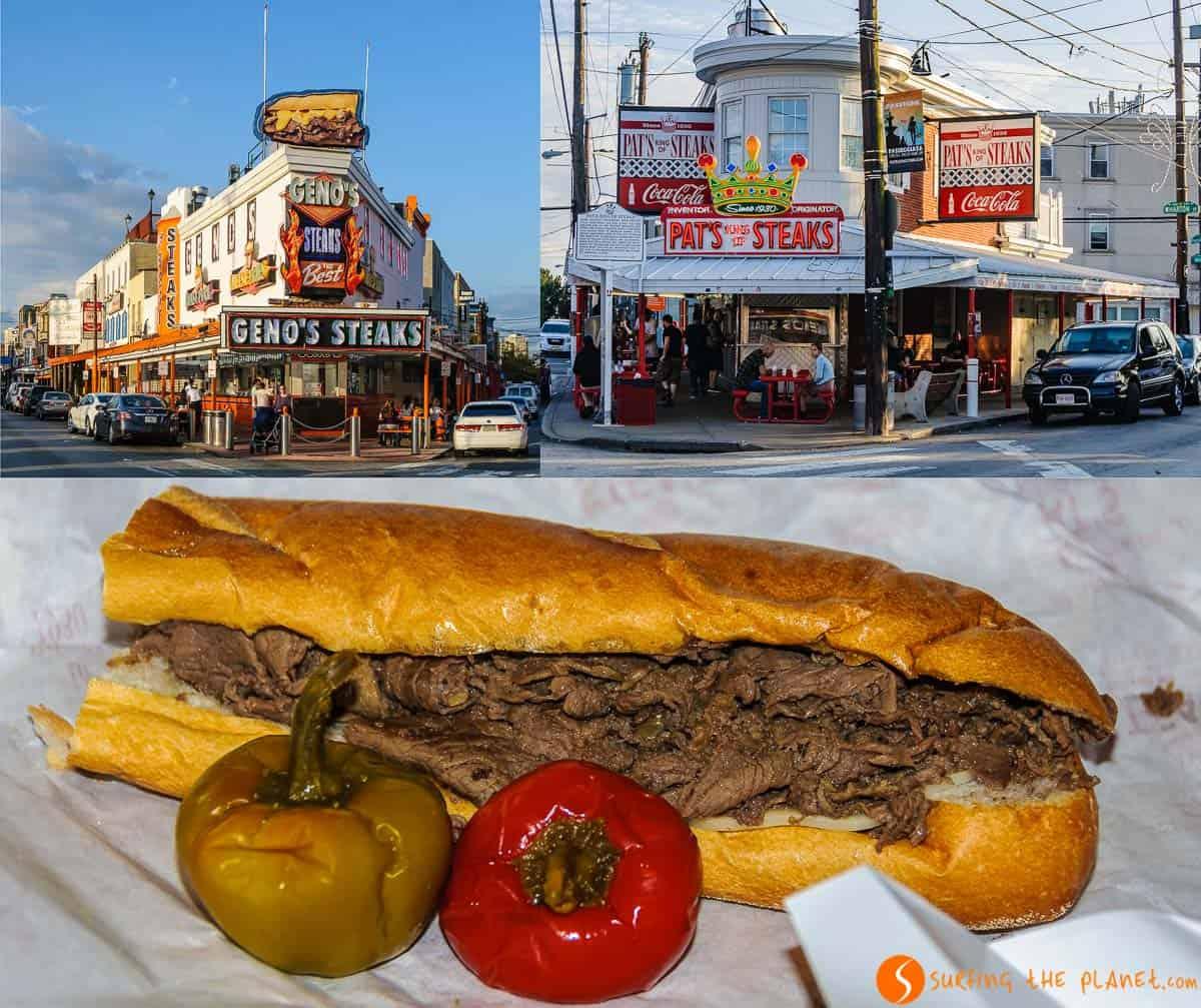 Cheesesteak, Filadelfia, Estados Unidos | 14 Imprescindibles que ver y hacer en Filadelfia