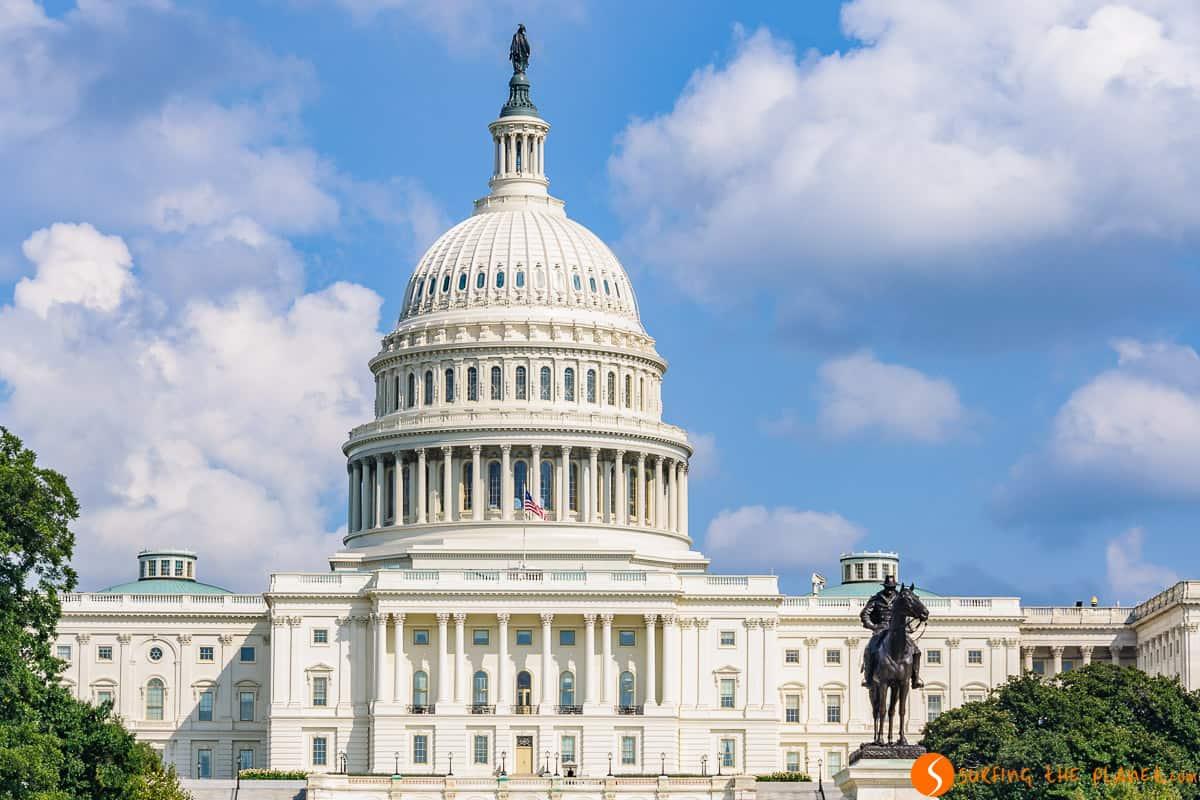 Cúpula del Capitolio, Washington DC, Estados Unidos